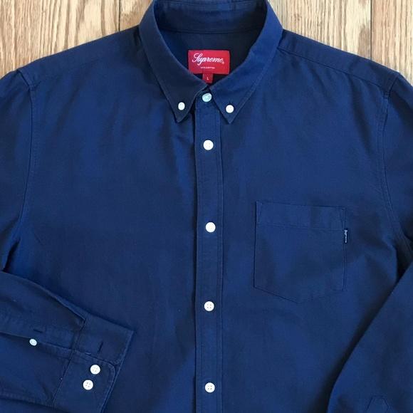 0f79fef01244a2 NWOT Supreme Oxford Button Down Shirt New. M_5ae8abc5a825a63b1d30edc4